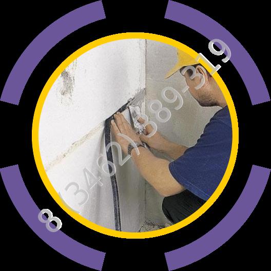 Прокладка электропроводки в штробе, в кабельканале, в гофре, открытой электропроводки на скобах и ретро типа в Сургуте