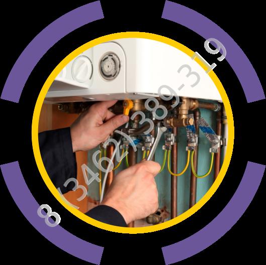 Подключение электрического, комбинированного котла, циркуляционного насоса в Сургуте